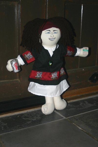 The Yseult de Montagu Adopt-a-Peer Doll (2009)