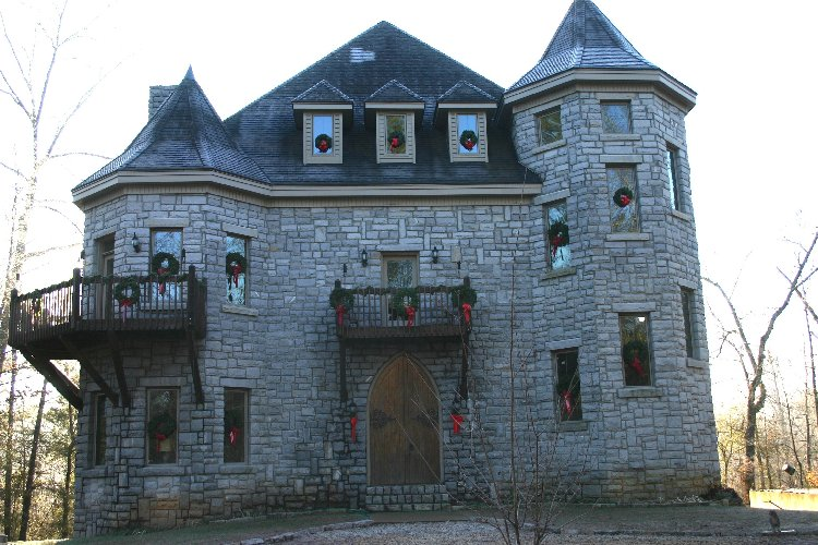 Castle Exterior - Christmas 2005 - Taken on Christmas Day
