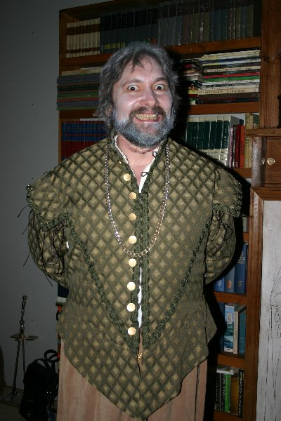 THLord Giovanni Francisco de Valencia as 'Nearly Headless Nick' at Halloween of A.S. XLII (2007)