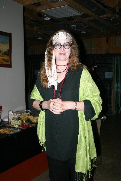 THLady Marie Gautrot as 'Sybil Trelawny' at Halloween of A.S. XLII (2007)