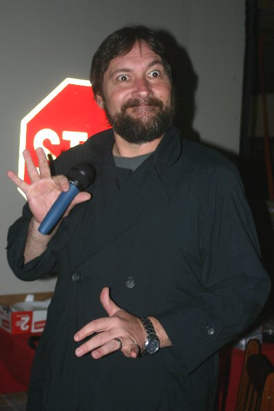 THLord Giovanni Francisco de Valencia as George Carlin, Halloween Dead Celebrity Bash 2008