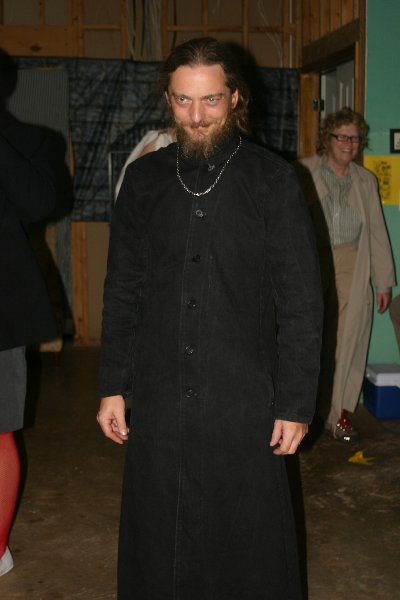 Garet de Hannethe as Rasputin, Halloween Dead Celebrity Bash 2008