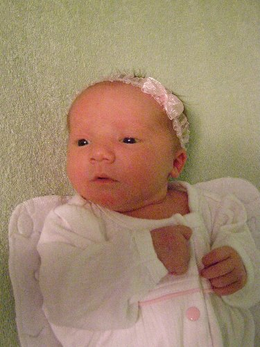 Newborn Elizabeth in July of A.S. XLII (2007)